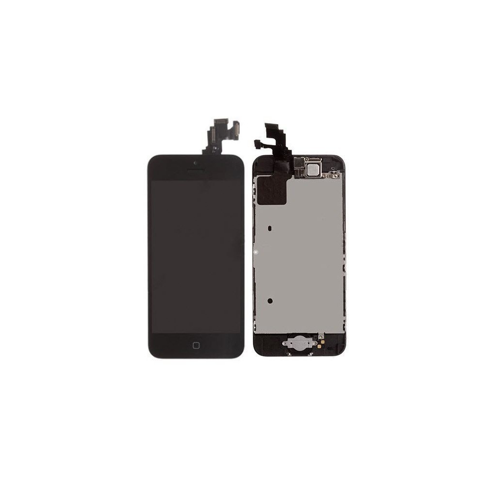 iPhone 5C LCD Ersatzdisplay Schwarz Vormontiert