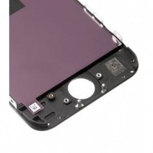 iPhone 5C LCD Digitizer Rahmen Ersatzdisplay Schwarz