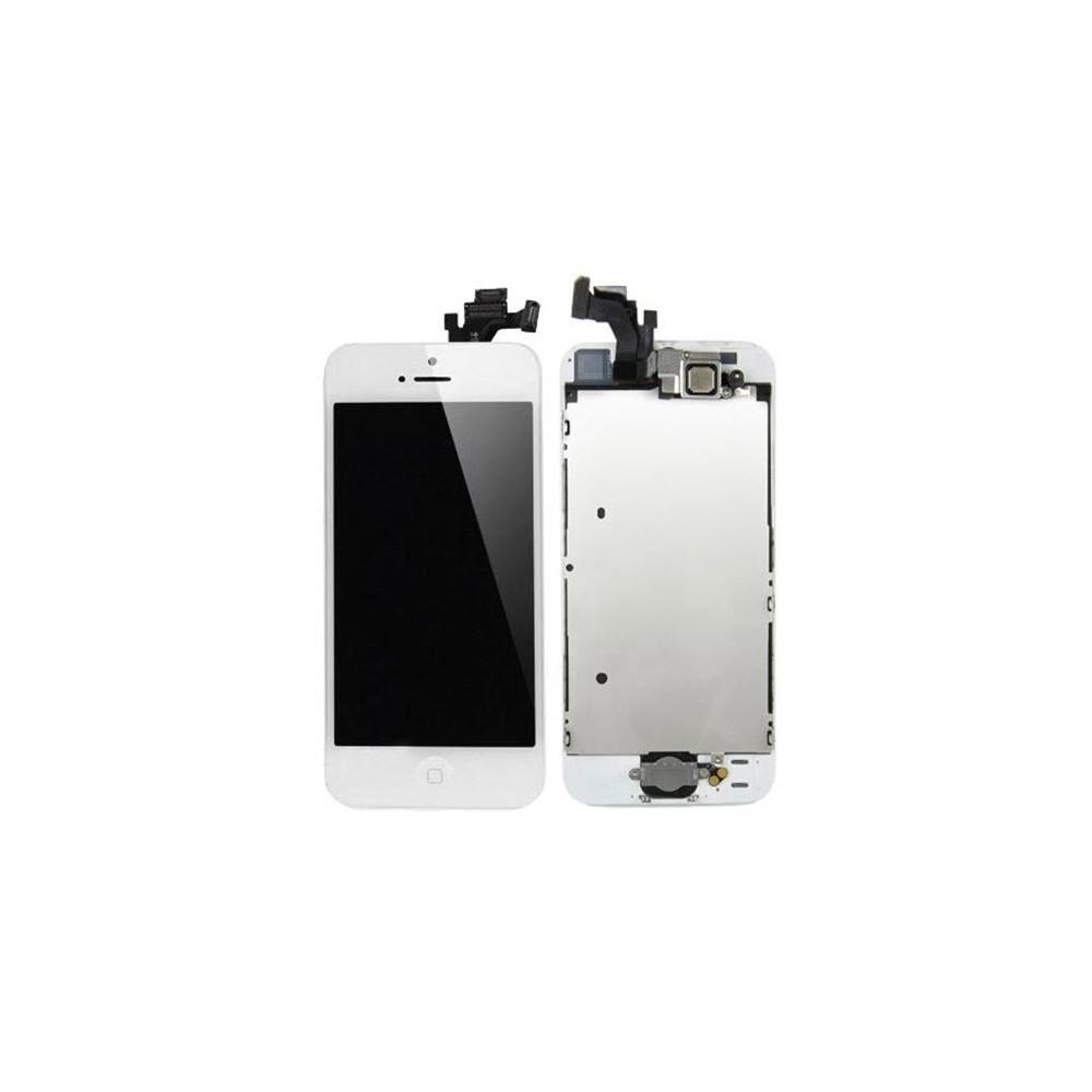 iPhone 5 LCD Ersatzdisplay Weiss Vormontiert