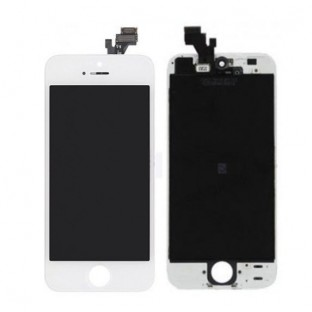 iPhone 5 LCD Digitizer Frame Replacement Display White (A1428, A1429)