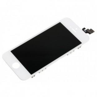 iPhone 5 LCD Digitizer Rahmen Ersatzdisplay Weiss