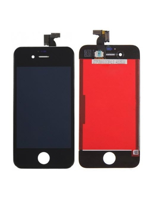 iPhone 4S LCD Digitizer Frame Replacement Display Noir (A1387, A1431)