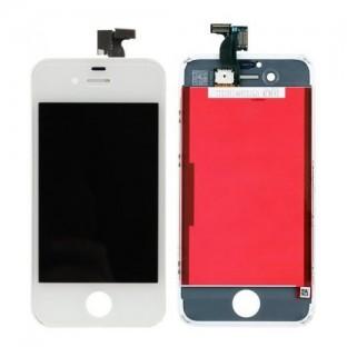 iPhone 4S LCD Digitizer Rahmen Ersatzdisplay Weiss (A1387, A1431)