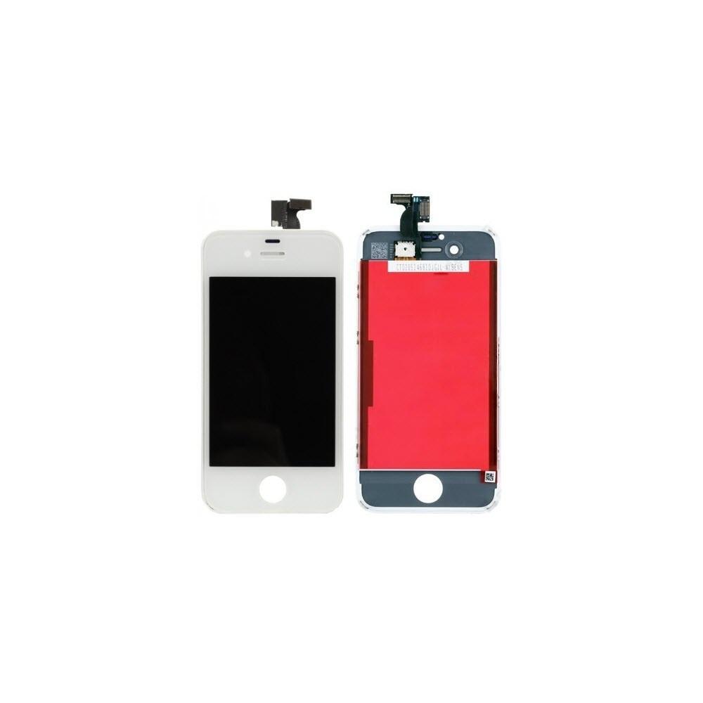iPhone 4S LCD Digitizer Rahmen Ersatzdisplay OEM Weiss