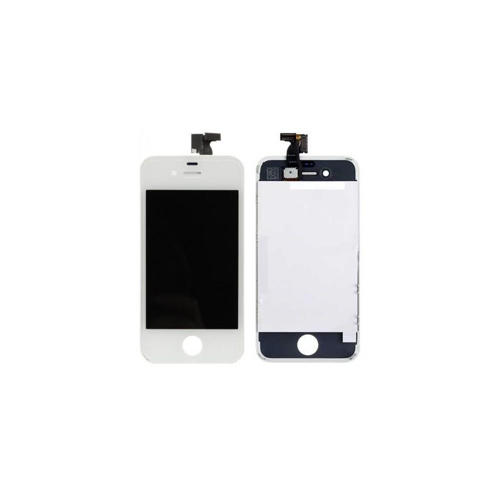 iPhone 4 LCD Digitizer Rahmen Ersatzdisplay OEM Weiss