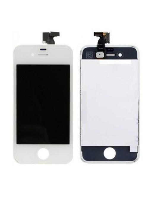 iPhone 4 LCD Digitizer Rahmen Ersatzdisplay Weiss
