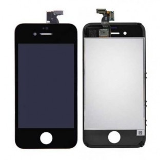iPhone 4 LCD Digitizer Frame Replacement Display Noir (A1332, A1349)
