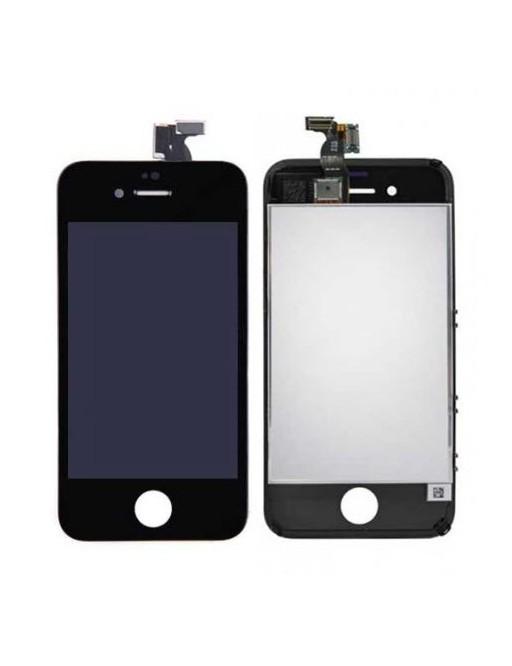 iPhone 4 LCD Digitizer Rahmen Ersatzdisplay Schwarz