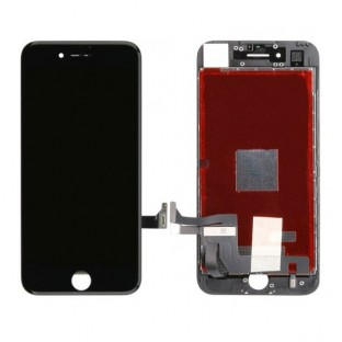 iPhone 8 LCD Digitizer Rahmen Ersatzdisplay OEM Schwarz