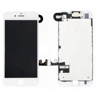 iPhone 8 LCD Digitizer Rahmen Ersatzdisplay OEM Weiss Vormontiert