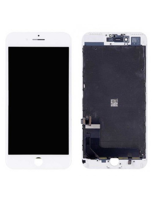 iPhone 8 Plus LCD Digitizer Rahmen Ersatzdisplay Weiss