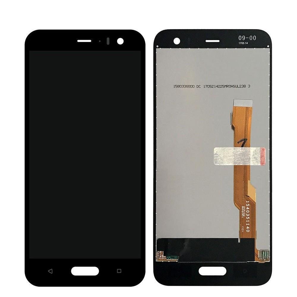 HTC U11 Life LCD Ersatzdisplay Schwarz