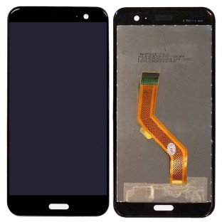 HTC U11 LCD Ersatzdisplay Schwarz