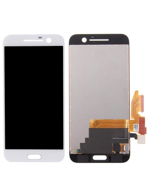 HTC 10 LCD Digitizer Front Ersatzdisplay Weiss