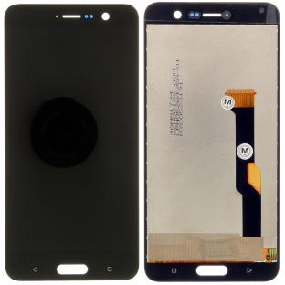 HTC U Play LCD Ersatzdisplay Schwarz OEM