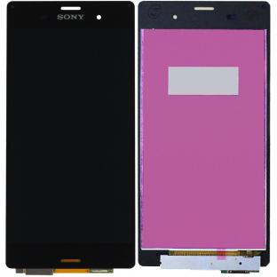 Sony Xperia Z3 LCD Ersatzdisplay Schwarz OEM