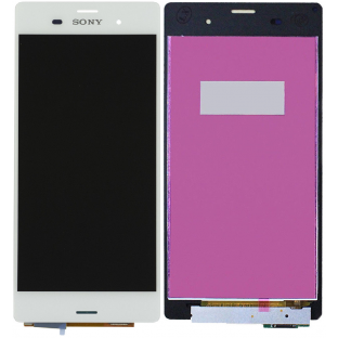 Sony Xperia Z3 LCD Replacement Display White