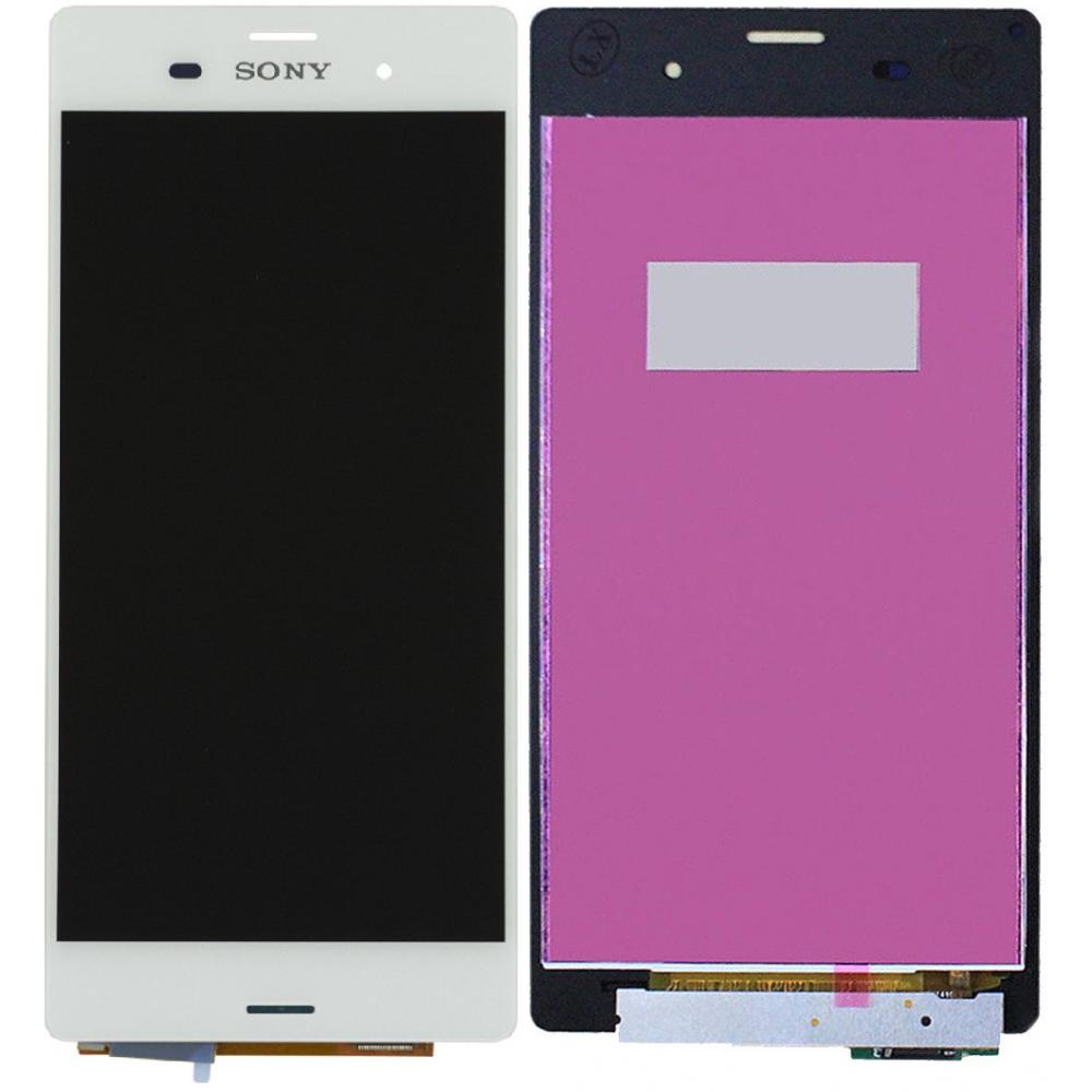 Sony Xperia Z3 LCD Ersatzdisplay Weiss
