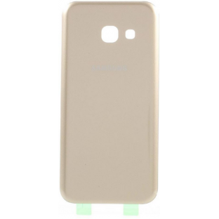 Samsung Galaxy A3 (2017) back cover back shell with adhesive gold