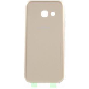 Samsung Galaxy A3 (2017) Backcover Rückschale mit Kleber Gold OEM