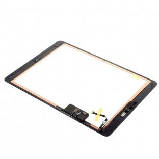 iPad 9.7 (2017) Touchscreen Glas Digitizer Schwarz Vormontiert (A1822, A1823)
