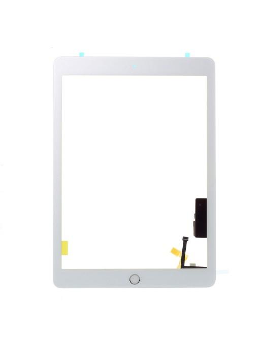 iPad 9.7 (2017) Touchscreen Glas Digitizer Weiss Vormontiert (A1822, A1823)