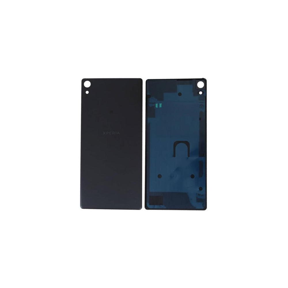 Sony Xperia XA Ultra Backcover Rückschale mit Kleber Schwarz