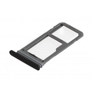 Samsung Galaxy S8 Plus / S8 Sim + Micro SD Tray Karten Schlitten Adapter Schwarz OEM