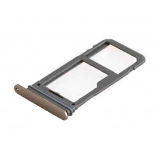 Samsung Galaxy S8 Plus / S8 Sim + Micro SD Tray Karten Schlitten Adapter Gold OEM