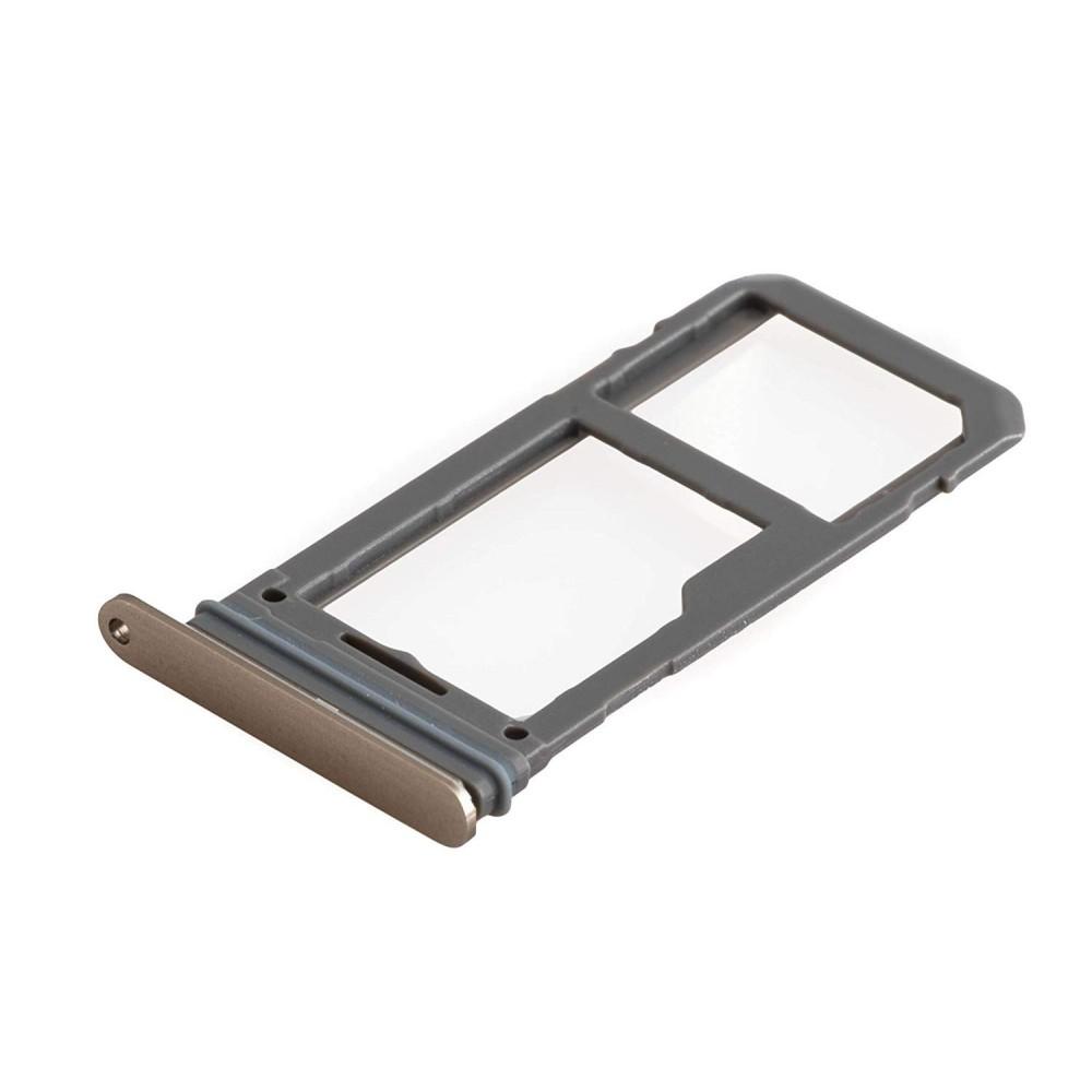 Samsung Galaxy S8 Plus / S8 Sim + Micro SD Tray Karten Schlitten Adapter Gold