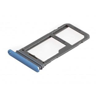 Samsung Galaxy S8 Plus / S8 Sim + Micro SD Tray Karten Schlitten Adapter Blau