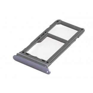 Samsung Galaxy S8 Plus / S8 Sim + Micro SD Tray Karten Schlitten Adapter Lila