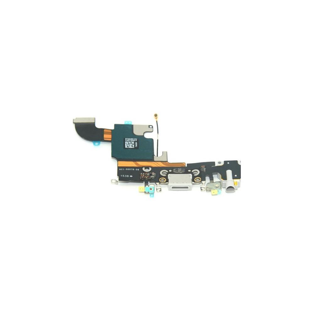 prise de charge de l'iPhone 6S / Connecteur Lightning Blanc (A1633, A1688, A1691, A1700)