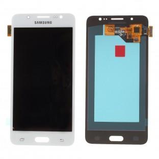 Samsung Galaxy J5 (2016) LCD Digitizer Front Ersatzdisplay Weiss OEM