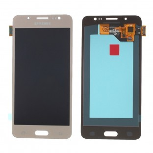Samsung Galaxy J5 (2016) LCD Digitizer Front Ersatzdisplay Gold OEM