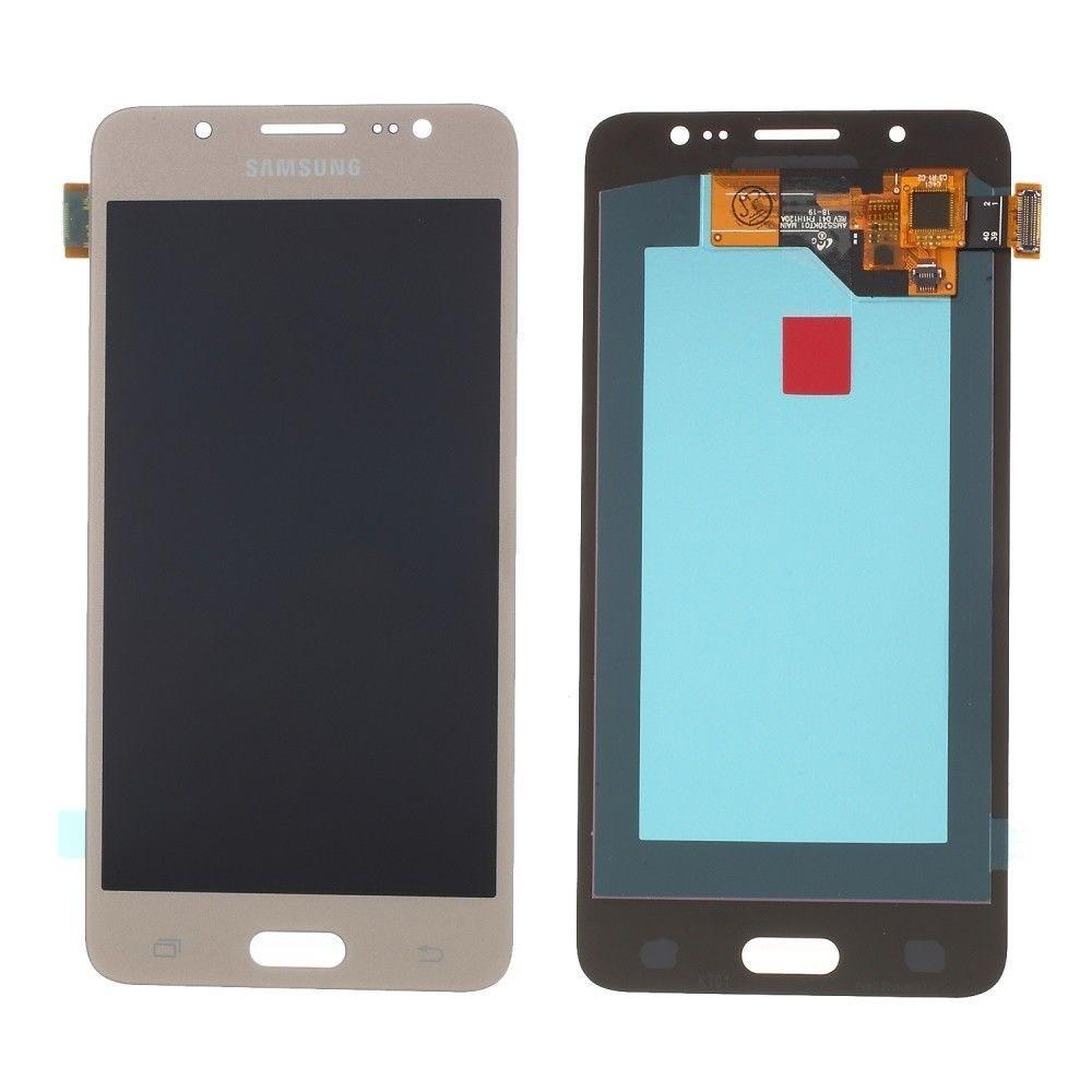 Samsung Galaxy J5 (2016) LCD Digitizer Front Ersatzdisplay Gold
