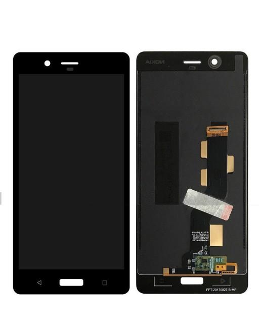 Nokia 8 LCD Ersatzdisplay Schwarz