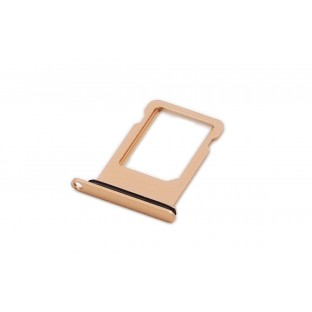 iPhone 8 Sim Tray Karten Schlitten Adapter Gold (A1863, A1905, A1906)