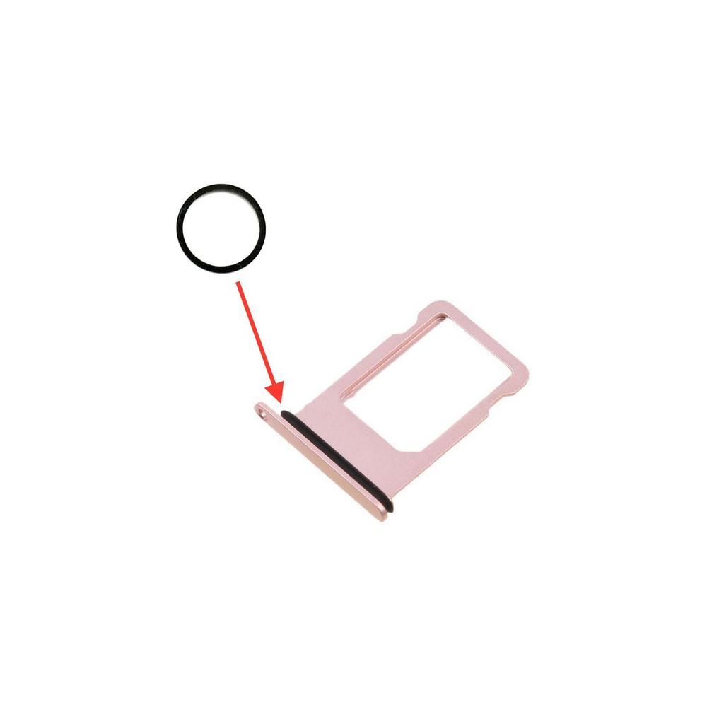 iPhone 8 / 8 Plus / X Gummi Dichtung für Sim Tray Karten Schlitten Adapter