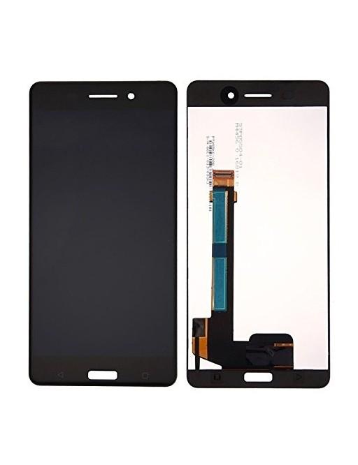 Nokia 6 LCD Ersatzdisplay Schwarz