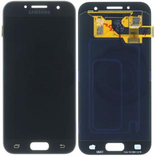 Samsung Galaxy A3 (2017) LCD Ersatzdisplay Schwarz OEM