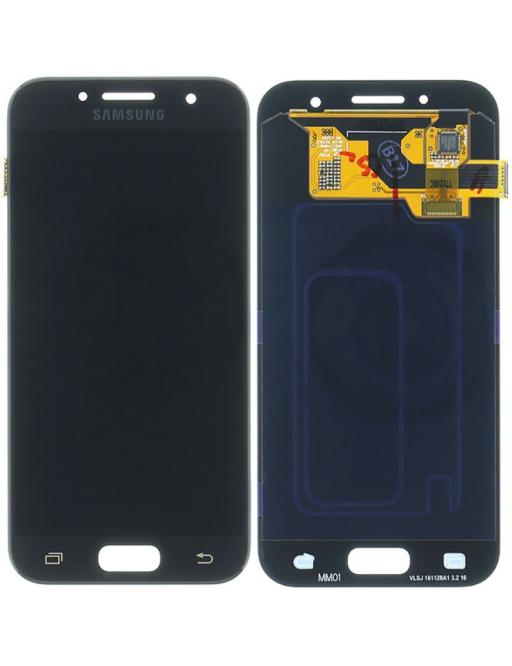 Samsung Galaxy A3 (2017) LCD Digitizer Front Ersatzdisplay Schwarz