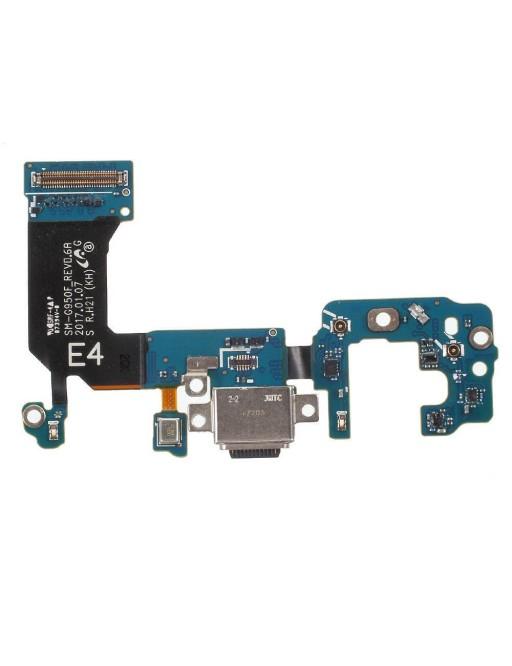 Samsung Galaxy S8 Dock Connector USB C Ladeanschluss Flex Kabel