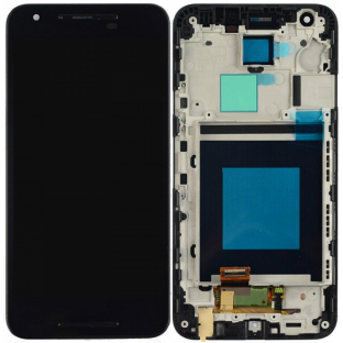 LG Nexus 5X sostituzione display LCD + telaio preassemblato nero