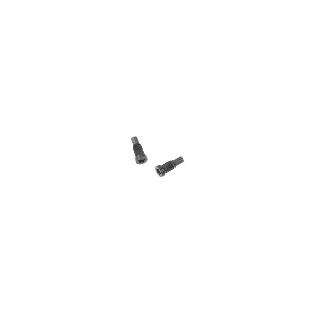 2 x iPhone 8 Plus / 8 Pentalobe Schrauben für LCD Display Schwarz