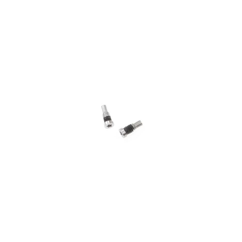 2 x iPhone 8 Plus / 8 Pentalobe Schrauben für LCD Display Weiss / Silber