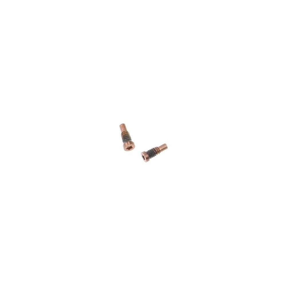 2 x iPhone 8 Plus / 8 Pentalobe Schrauben für LCD Display Gold / Rosé