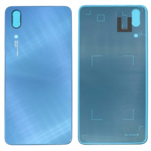 Huawei P20 Backcover Rückschale mit Kleber Blau OEM
