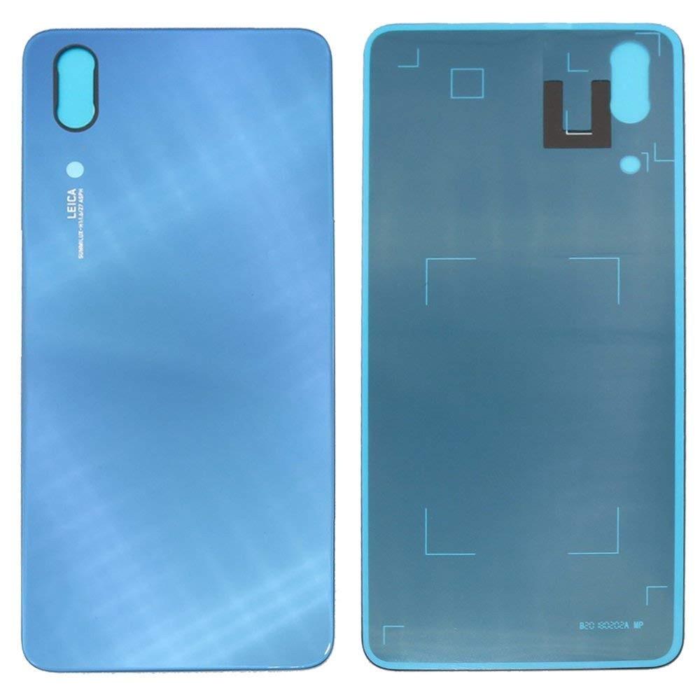 Huawei P20 Backcover Rückschale mit Kleber Blau