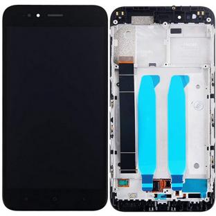 Xiaomi Mi A1 Ecran LCD de remplacement + cadre préassemblé Noir